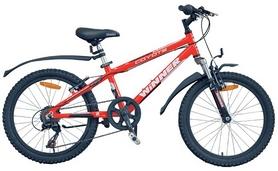 """Велосипед детский горный Winner Coyote 20"""" красный, рама - 11"""""""