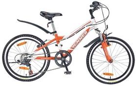 """Велосипед детский горный Winner Puma 20"""" бело-оранжевый, рама - 11"""""""