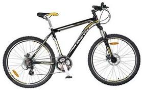 """Велосипед горный Kinetic Crystal 29"""" черно-синий, рама - 20"""""""