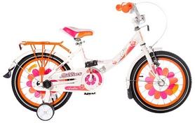 """Велосипед детский Ardis Lillies 16"""" BMX бело-оранжевый, рама - 10"""""""