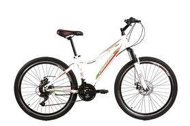 """Велосипед подростковый горный Crossride Molly Lady 24"""" белый, рама - 13"""""""