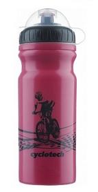 Фляга велосипедная Cyclotech Water Bottle CBOT-1P 680 мл розовая