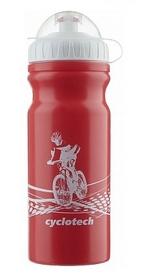 Фляга велосипедная Cyclotech Water Bottle CBOT-1R 680 мл красная