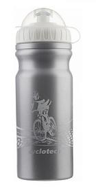 Фляга велосипедная Cyclotech Water Bottle CBOT-1S 680 мл серая