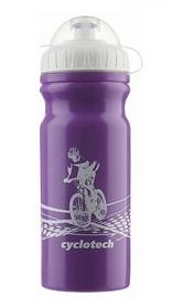 Фляга велосипедная Cyclotech Water Bottle CBOT-1VI 680 мл фиолетовая