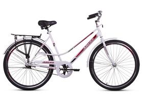 """Велосипед городской женский Ardis City Style 24"""" белый/красный, рама - 19"""""""