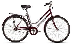 """Велосипед городской женский Ardis Лыбидь (VeloSteel) 28"""" белый/красный, рама - 19"""""""