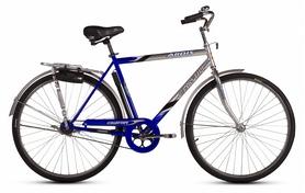 """Велосипед городской Ardis Славутич (VeloSteel) 28"""" серый/синий, рама - 22"""""""
