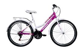 """Велосипед городской женский Kinetic Magnolia win16-128 26"""" розовый, рама - 15"""""""