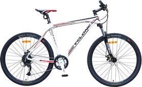 "Велосипед горный Cyclone LX-650b 27,5"" белый, рама - 21"""