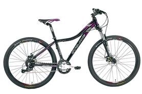 """Велосипед горный женский Cyclone LLX-650b 27,5"""" черный, рама - 15.5"""""""
