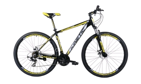 "Велосипед горный Kinetic Storm win17-059 29"" желтый, рама - 20"""