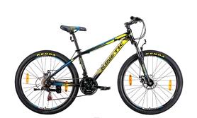 """Велосипед горный Kinetic Profi win17-065 26"""" желтый, рама - 13,5"""""""