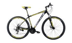 "Велосипед горный Kinetic Storm win17-056 29"" желтый, рама - 18"""
