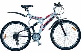 """Велосипед горный Winner Panther 26"""" 2016 бело-красный, рама - 21"""""""