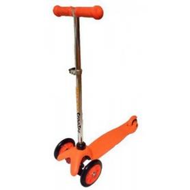 Самокат трехколесный с наклоном руля Scooter M-83 trolo mini micro оранжевый