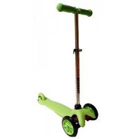Самокат трехколесный с наклоном руля Scooter M-83 trolo mini micro зеленый