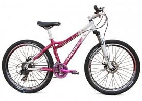 """Велосипед подростковый горный Ardis LX-200 DB 24"""" белый, рама - 14"""""""