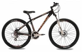 """Велосипед подростковый горный Ardis Rider 24"""" черный, рама - 13"""""""