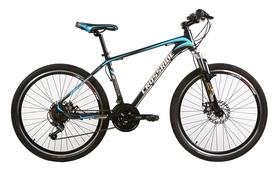 """Велосипед горный Crossride Cross 6000 26"""" черный, рама - 21"""""""