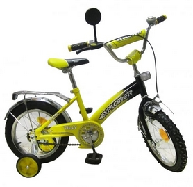 "Велосипед детский Baby Tilly Explorer 14"" yellow/black"