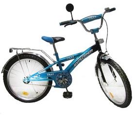 """Велосипед детский Baby Tilly Explorer 20"""" blue/black"""