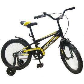 """Велосипед детский Baby Tilly Flash 18"""" Black"""