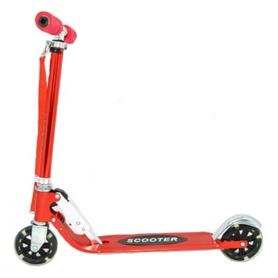 Самокат двухколесный Scooter 2-B красный