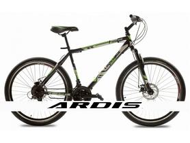 """Велосипед подростковый горный Crossride Flash MTB 24"""" черно-зеленый, рама - 18"""""""