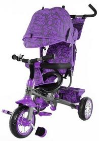 Велосипед трехколесный Baby Tilly Trike T-341 фиолетовый