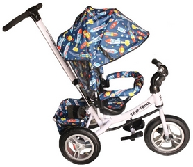 Велосипед трехколесный Baby Tilly Trike T-351-10 белый