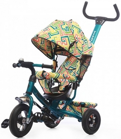 Велосипед трехколесный Baby Tilly Trike T-351-3 бирюзовый 2018