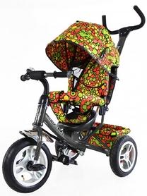 Велосипед трехколесный Baby Tilly Trike T-351-4 серый