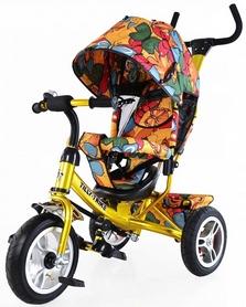Велосипед трехколесный Baby Tilly Trike T-351-7 золотой