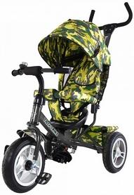Велосипед трехколесный Baby Tilly Trike T-351-8 серый