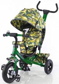 Велосипед трехколесный Baby Tilly Trike T-351-8 темно-зеленый