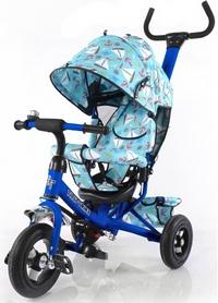 Велосипед трехколесный Baby Tilly Trike T-351-9 синий