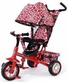 Велосипед трехколесный Baby Tilly Zoo-Trike T-342 темно-красный