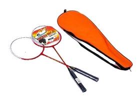 Набор для бадминтона (2 ракетки, чехол) Boshika 209-R красный