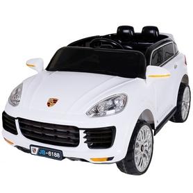 Электромобиль детский Baby Tilly Джип Porsche T-787 белый