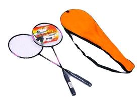 Набор для бадминтона (2 ракетки, чехол) Boshika Pro-316-V фиолетовый