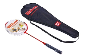 Набор для бадминтона (1 ракетка, чехол) Wilson Four WYZ-81-R красный