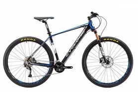 """Велосипед горный Cyclone ALX 29"""" черно-синий, рама - 18"""""""
