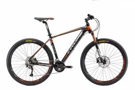 """Велосипед горный Cyclone LX-650b 27,5"""" черно-оранжевыйю, рама - 17"""""""