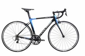 """Велосипед шоссейный Cyclone FRС 72 28"""" черно-синий, рама - 55 см"""