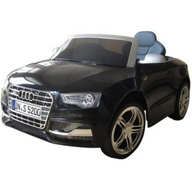 Электромобиль детский Baby Tilly T-796 Audi S5 Baby черный