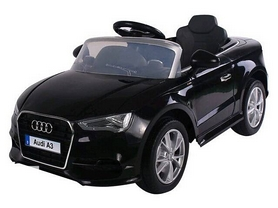 Электромобиль детский Baby Tilly T-795 Audi A3 черный