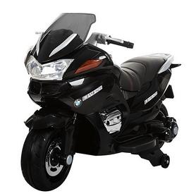 Электромобиль мотоцикл детский Baby Tilly T-726 черный