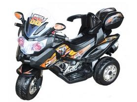 Электромобиль мотоцикл детский Baby Tilly T-722 черный