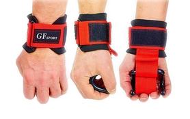 Крюки для тягиKepai TA-8019 (2 шт) черно-красные